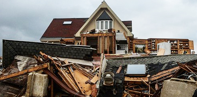 We help emergency managers prepare for tornado, hurricanes and other severe storms